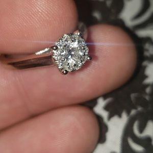 Women's 14kt Gold Diamond Ring 7.5